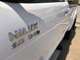 One owner Hilux bakkie wanted