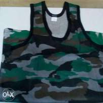Combat/army/camouflaged vests