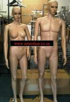 Shopfitting mannequins and clothing rails for sale