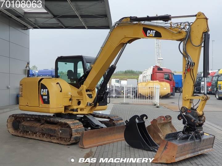 Caterpillar 308E 3 buckets - German dealer machine - 2012 - image 2