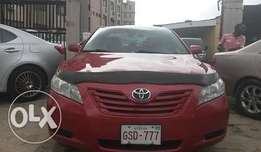 Toyota Camry LE Red Color 2009 TOKUNBO