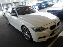 Automatic 2016 White BMW F30 320i