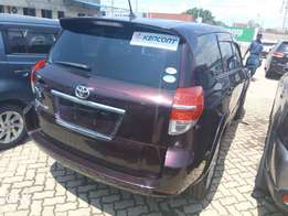 Toyota vanguard maroon special offer
