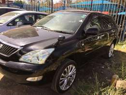 Toyota Harrier 2010 4wd fully loaded