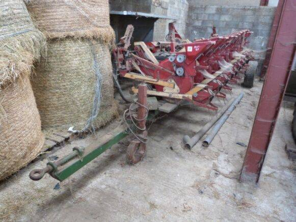 Precision Seeder mechanical  seed drill for sale by auction