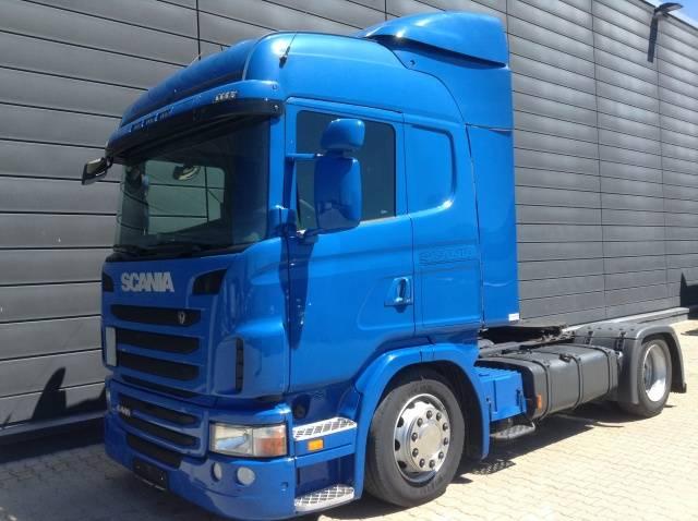 Scania G 440LA4x2 MEB Euro5 Retarder Klima Luftfeder ZV Standhzg - 2011