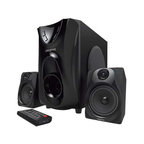 CREATIVE E2400 - 2.1 Multimedia Speakers with Subwoofer - Black Westlands - image 1