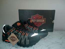 Harley Davison Men's Chase Athletic/Motorcycle/Hiker Shoes.