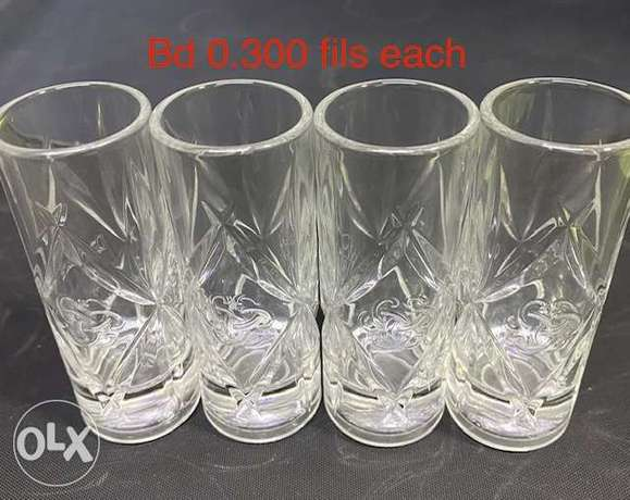 Crystal Glasses and Assorted Glasses