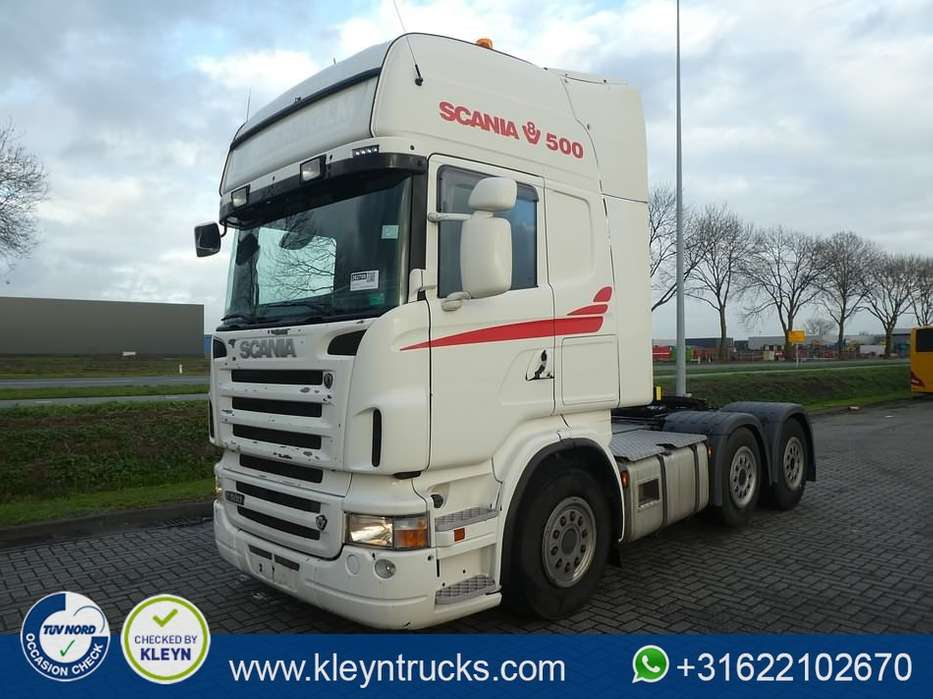Scania R500 tl 6x2/4 manual - 2009
