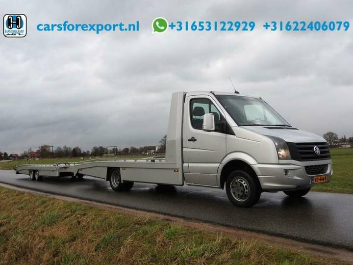 Volkswagen Crafter 46 2.0 TDI L3H1 DC Auto-ambulance + Aanh - 2013