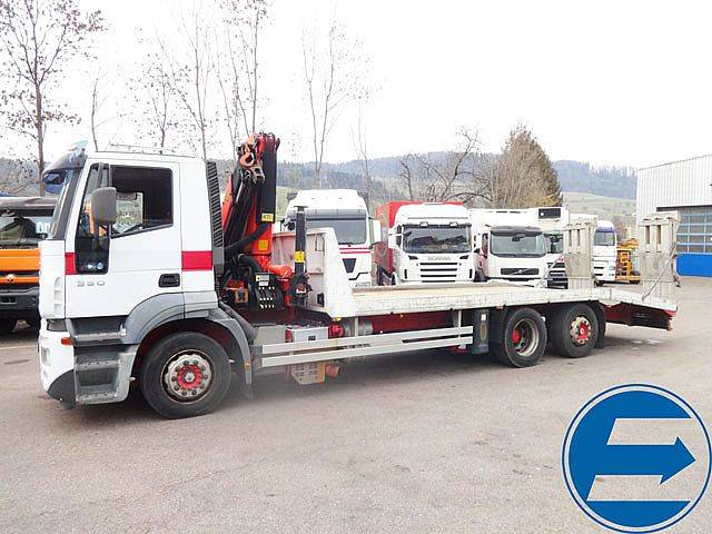 Iveco 260 S 35 STRALIS Auto- / Baumaschinen-Transporter - 2005