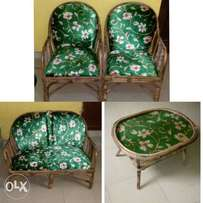 4-Seater Cane Chairs