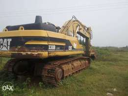 Well-maintained Caterpillar excavator 330B