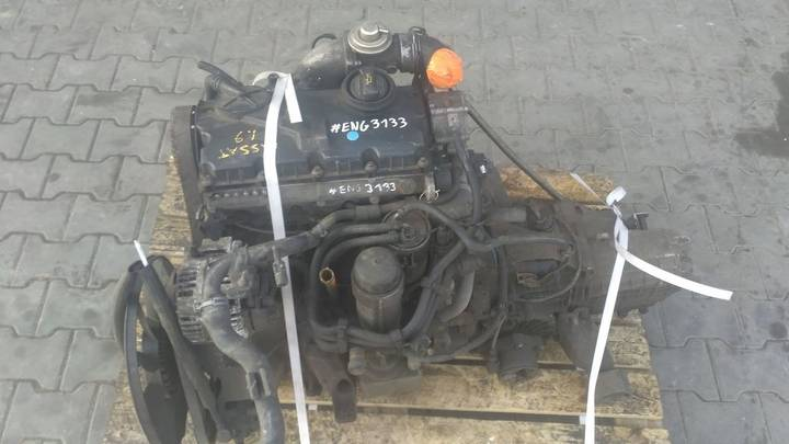 Volkswagen Passat 1.9 AWX ASZ AVF engine for  Silnik Passat 1.9 AWX ASZ - image 2