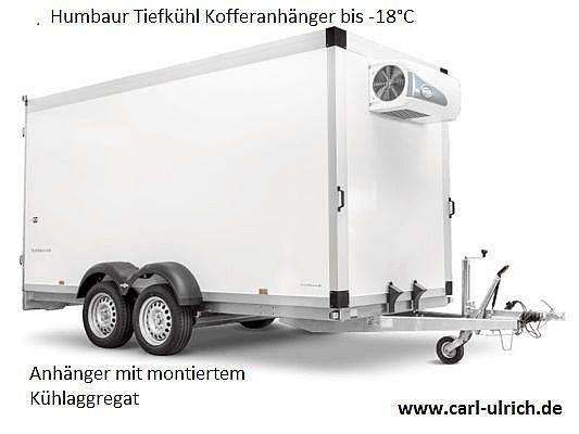 Humbaur Tiefkühlanhänger TK253218 - 24PF80 mi Kühlaggregat