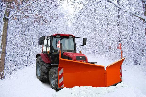 Kovaco plug deszapezire  snow plough