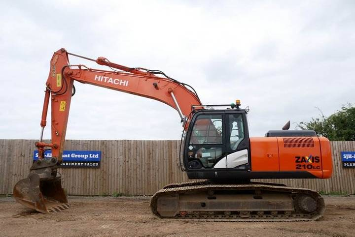 Hitachi Zx210lc-5b - 2013