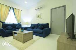 Monthly 5500 1 BHk in compound with pool and gym