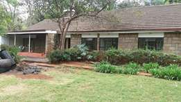 4 bedroom bungalow for rent as an office or residential..