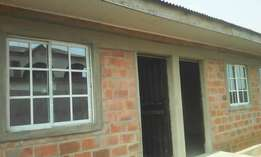 Standard mini flat for rent at igando