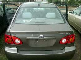 Extremely Clean Toyota Corolla Tokunbo