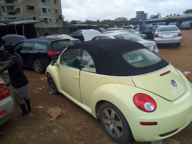 2006 Used Volkswagen Beetle Convertible for sale... Lugbe - image 1