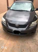 A very clean Grey Toyota corolla 2009 model, urgent buyer needed