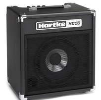 "HARTKE HD50 -1 x 10"" 50W Bass Combo with HyDrive Paper/Aluminum Speake"