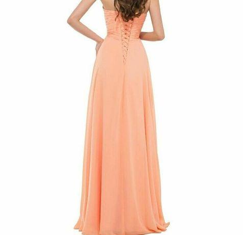 Випускна сукня персиковый вечерние платье плаття S-M 44-46 випускні Вінниця  - зображення 1 f8b118f9c7c57