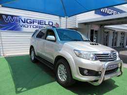 2012 Toyota Fortuner 3.0D-4D 4x4