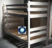 Free Delivery DOUBLE BUNK Bed in Stylish Finish. Brand New