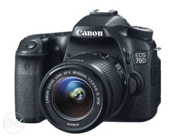 Canon 70D With 18-55mm Lens Highridge - image 1