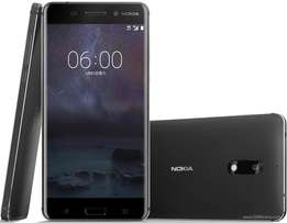 Brand new Nokia 6 Android 4GB-64GB Original Warranted,Free delivery