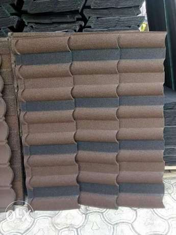 Long lifetime stone coated roofing sheet from golden ever company Eti Osa West - image 2