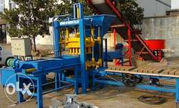 Automatic cabro&Building interlocking hollow machine for sale