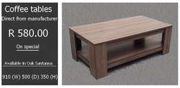 Coffee tables From 580