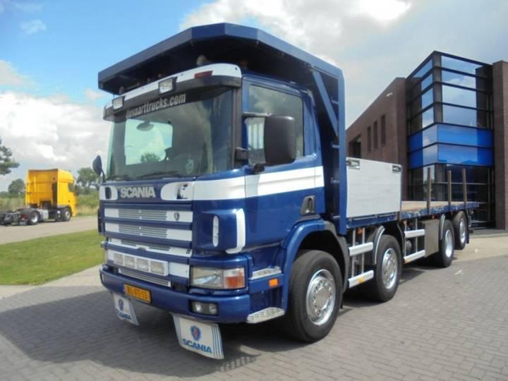 Scania 114P340 / 8x2 / Platform / Manual / Euro 3 / 800.000 KM - 2001