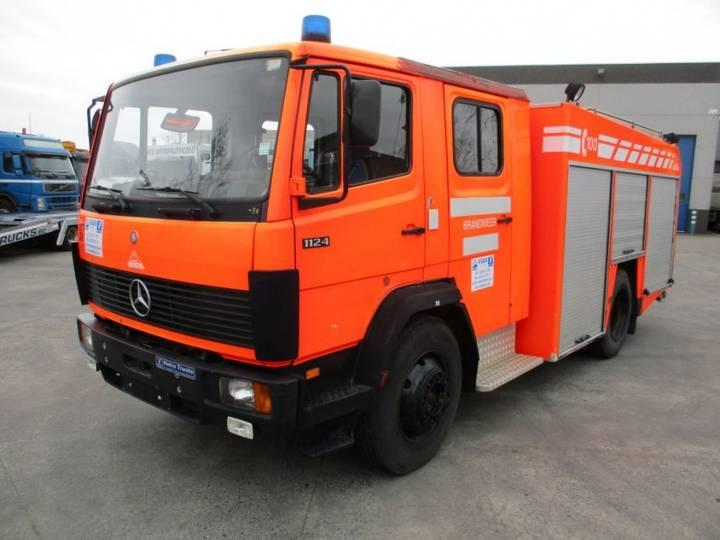 Mercedes-Benz 1124 F 4x2 Fire Truck / Feuerwehr / Pompiers - 1995