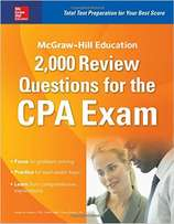 McGraw-Hill Education 2,000 Review Questions for the CPA Exam(2016)