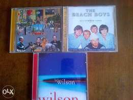 3 Brian Wilson & Beach Boys cds excellent condition