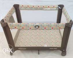 U.S Used Graco Baby Bed For 6mths-3yrs