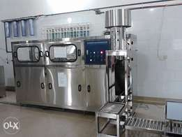 Washing ,filling and capping machine