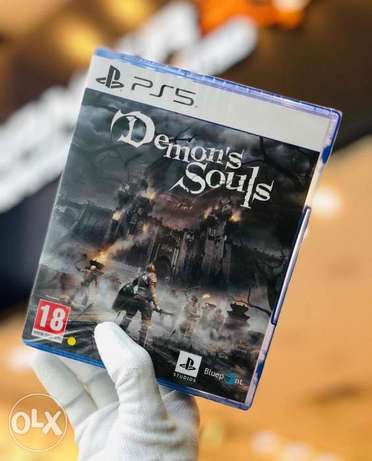 Demon's souls ps5 game available now