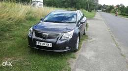 New Car Toyota Avensis KCN low mileage excellent condition New tyres
