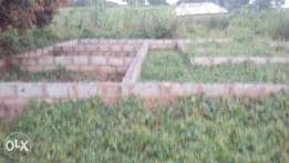 genuine land with foundation at chibiri kuje for sell