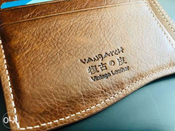 OriGinal VanBatch Leather Wallet For Men