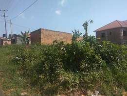 An offer of the season,25 decimals of land on sale in namugongo at 90m