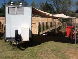Food Trailer with Awning