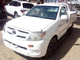 2008 Foreign Used White 2008 Toyota, Hilux Diesel For Sale - KSh2.1M